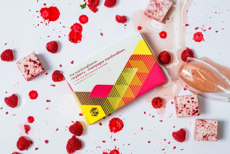 Fruity Champagne-Flavored Marshmallows