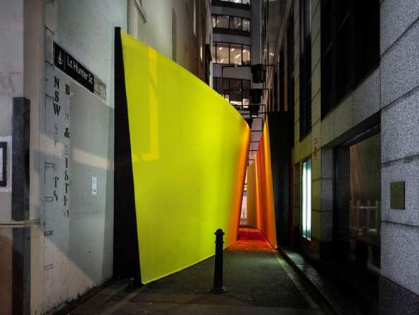 Interactive Lemon Laneways