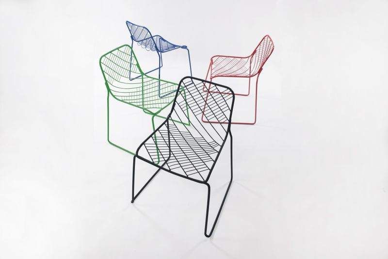 Partially Meshed Chairs