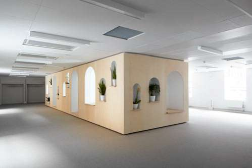 Meditative Office Partitions