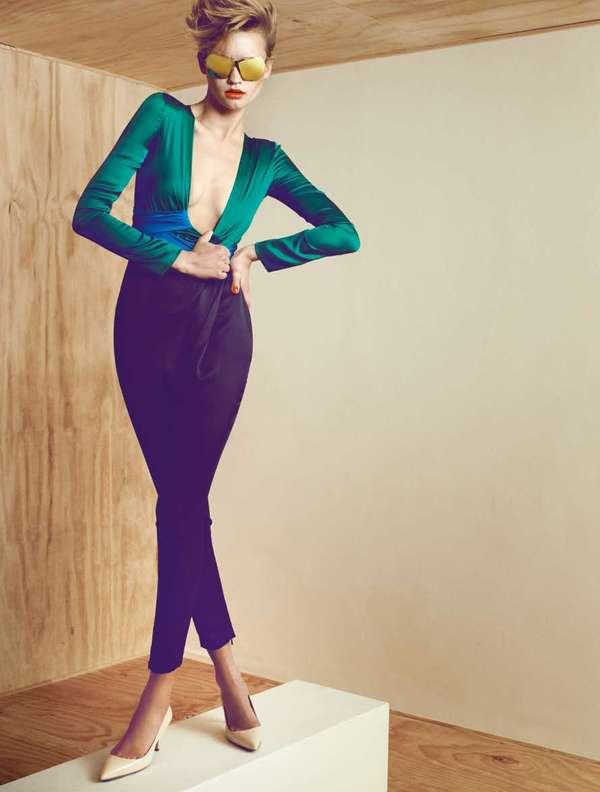 Jewel-Toned Editorials