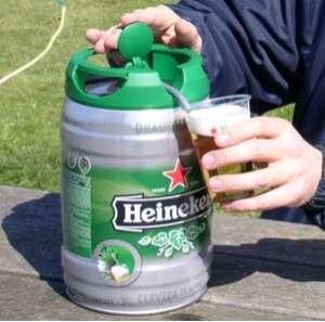 Portable Draught Kegs Heineken Brings You 5 Litres Of Fun