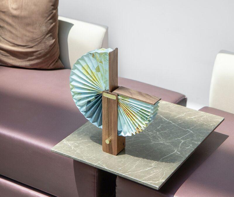 Folding Origami Lamps