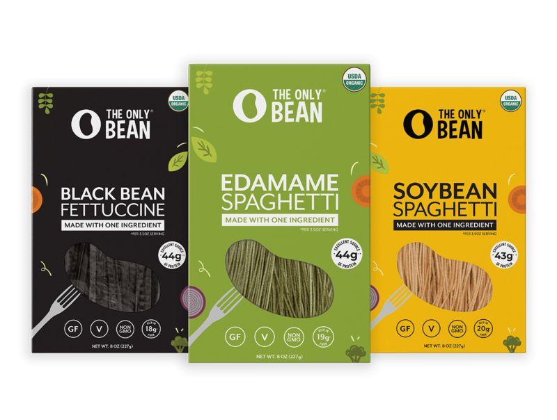 High-Fibre Bean Pastas