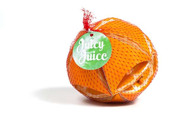 Fake Fruit-Designed Juice Boxes