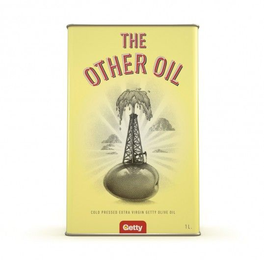 Retro Olive Oil Branding