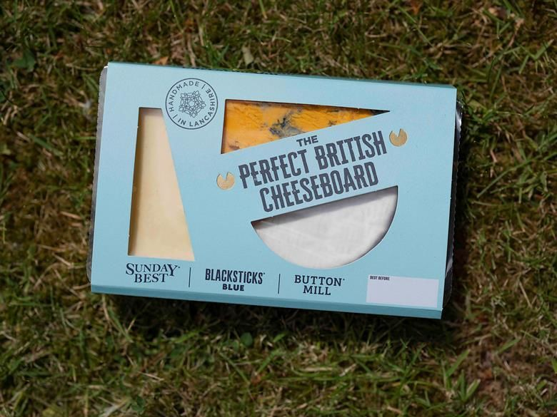 Ready-to-Serve Prepackaged Cheeseboards