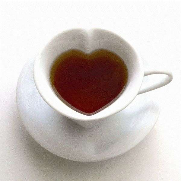 Heart Shaped Tea Sets Cup Full Of Love Dishes Perfect For