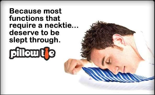 Snooze-Aiding Ties