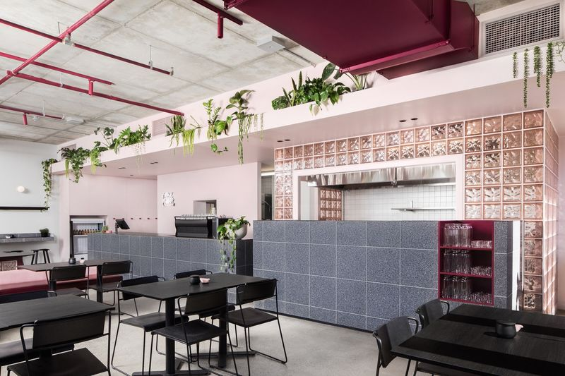Refreshing Modern Cafe Designs