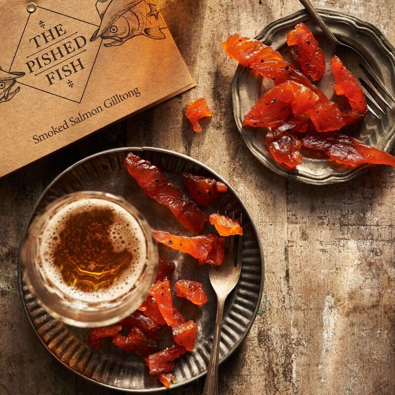 Gourmet Smoked Salmon Snacks