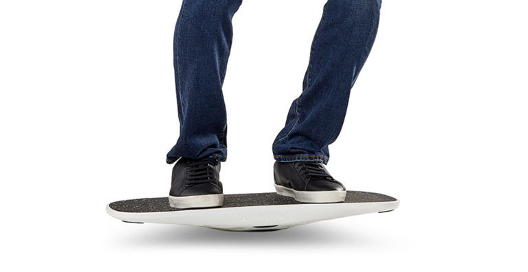 Recycled Active Balancing Boards