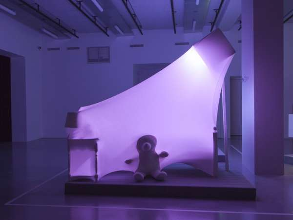 Draped Illumination Sculptures
