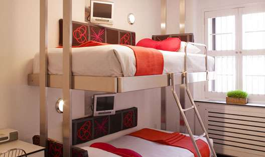 Luxury Bunk Bed Hotels The Pod Hotel Offers Cute