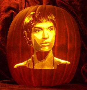 Intergalactic Pumpkin Carvings