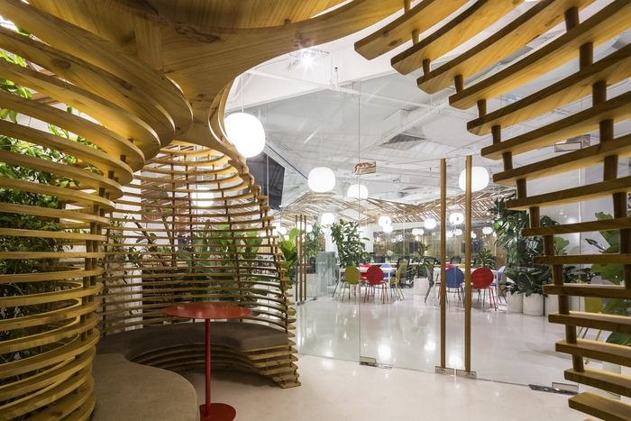 Village-Themed Office Spaces