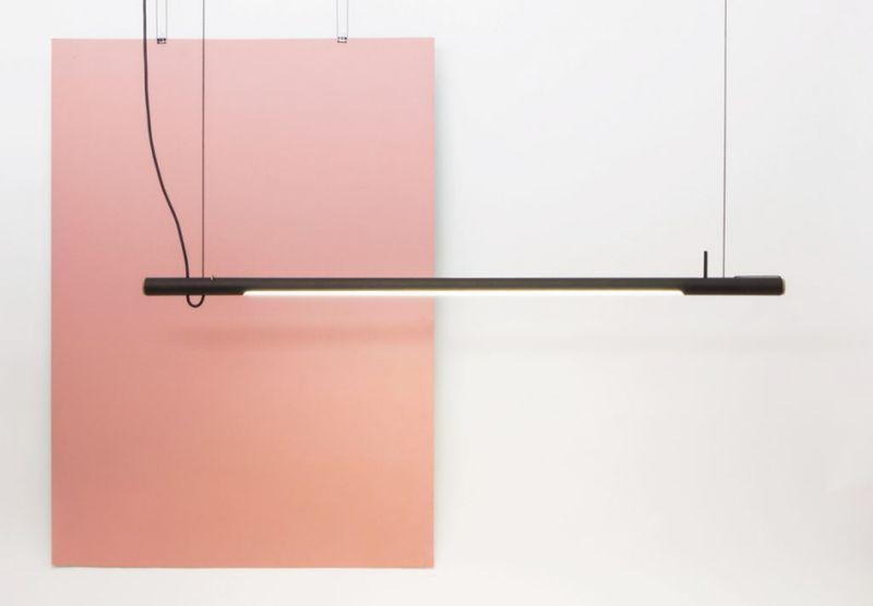 Cardboard Tube Lamps
