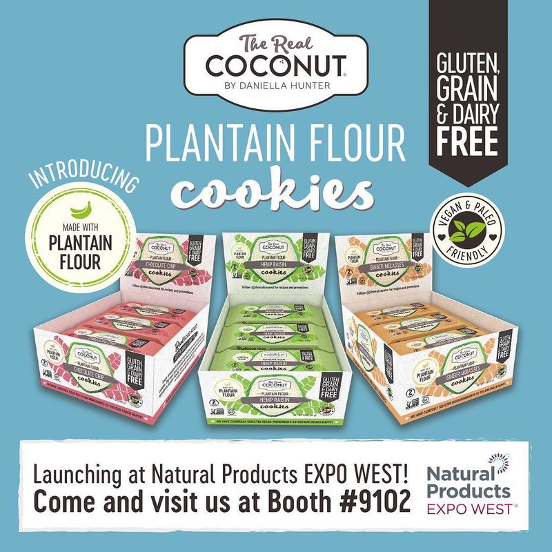 Plantain Flour Cookies