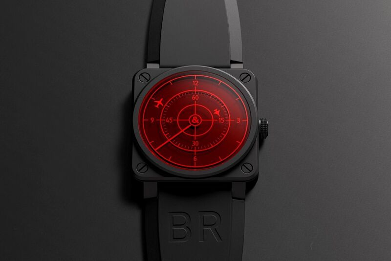 Aircraft Radar-Inspired Timepieces
