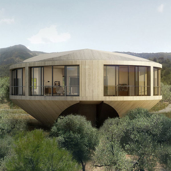 Spheric Summer Homes : The Round House