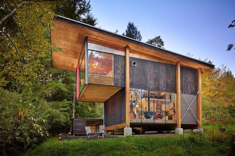Minimalist Hideaway Homes