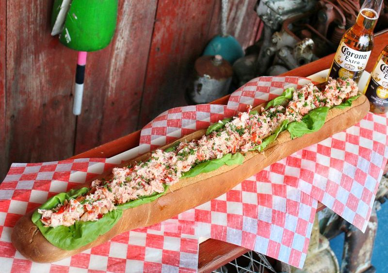 Two-Foot-Long Lobster Rolls
