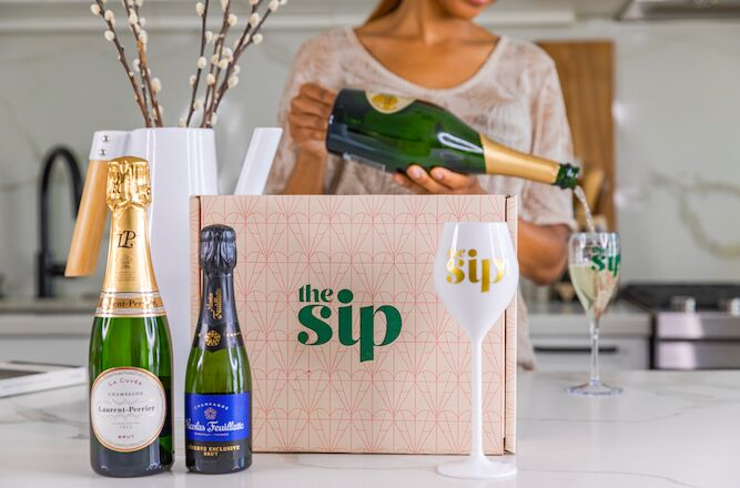 Curated Champagne Gift Boxes