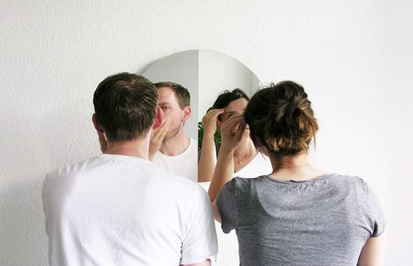 Dual-Perspective Mirrors