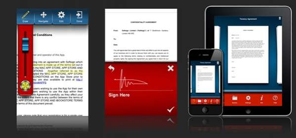 Onscreen Signature Apps