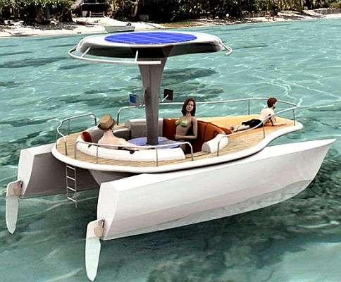 Solar Pedal Boat