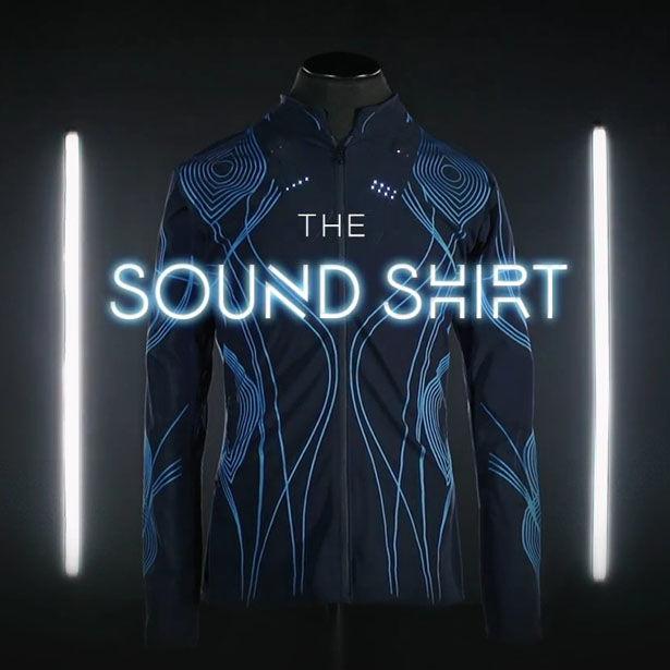 Sound-Converting Shirts