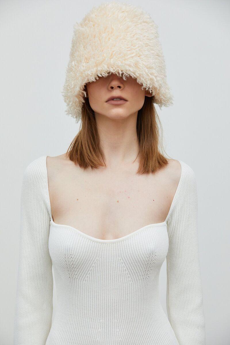 Sculptural Faux Fur Hats
