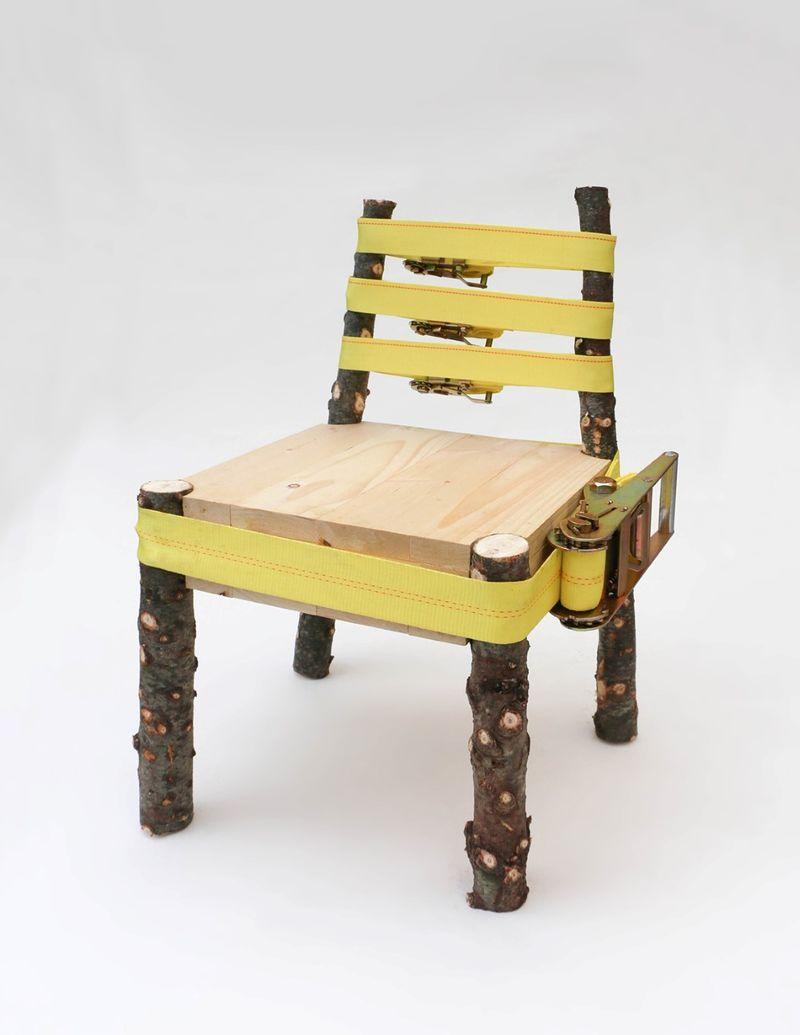 Naturalistic Tension Strap Seating