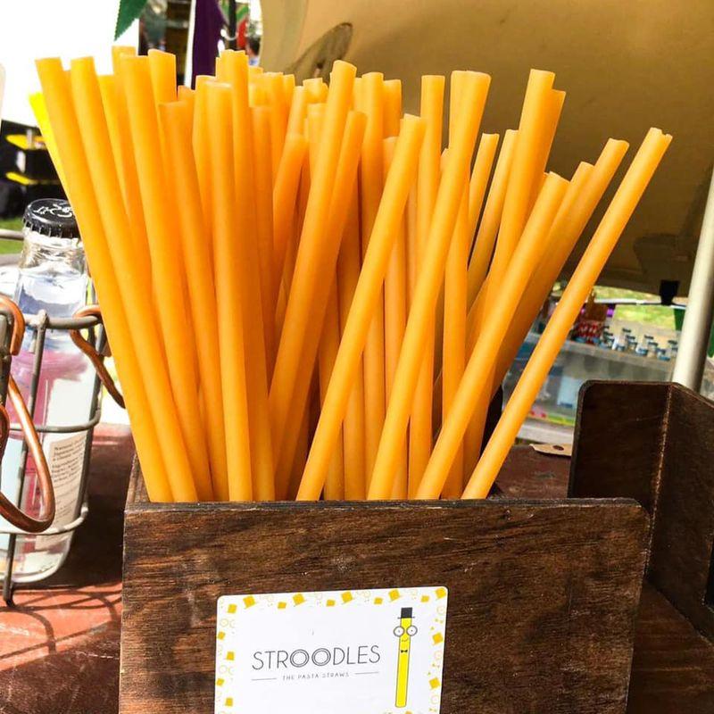 Pasta-Based Sustainable Drinking Straws