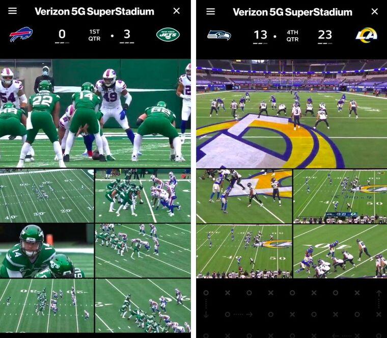 5G Football Stadiums