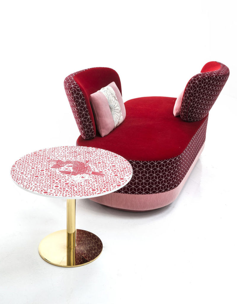 Boldly Patterned Seating Sets