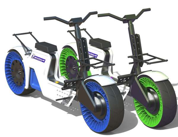Power-Producing Eco-Scooters