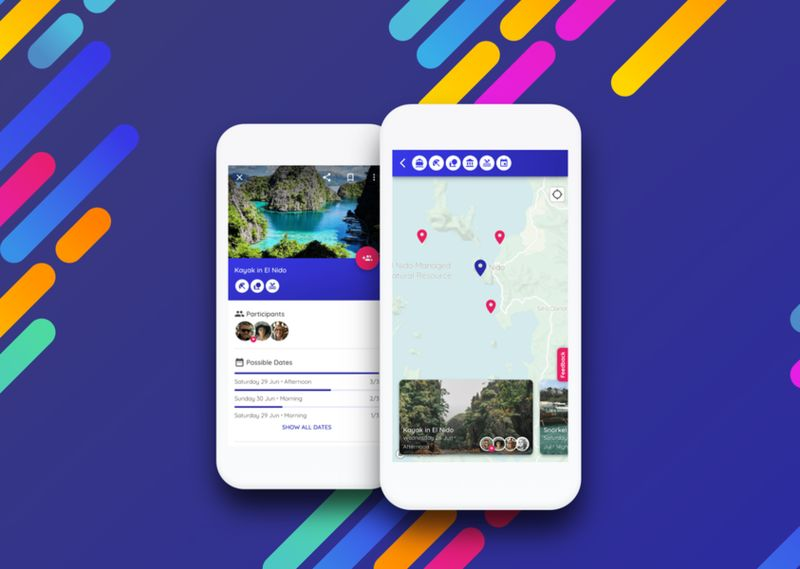 Activity-Locating Travel Apps