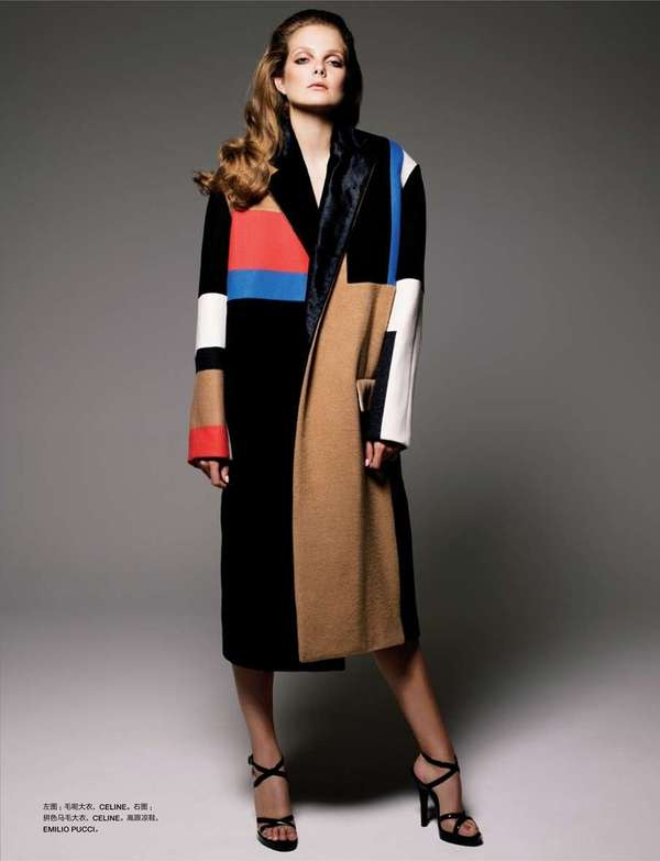 Structured Overcoat Editorials