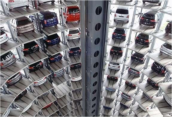 Automobile Skyscrapers