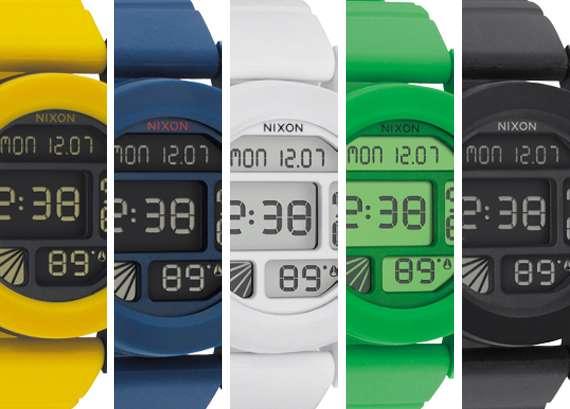 Simplistic Plastic Timepieces