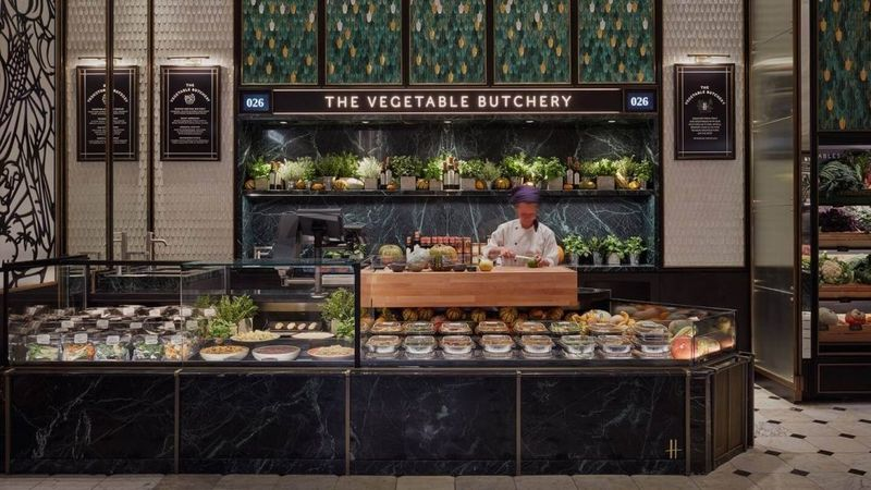 Plant-Based Butcher Stations