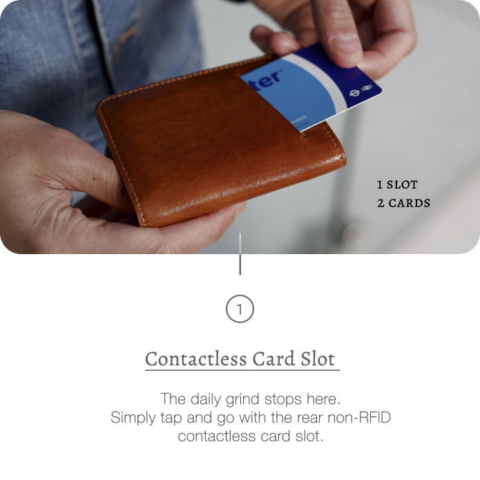 Well-Crafted Luxury Wallets - The Veloce Wallet Was Designed for Speed Without Plastic or Metal (TrendHunter.com)