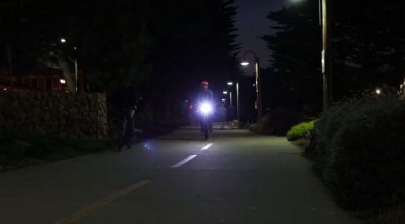 Motion-Detecting Bike Lights