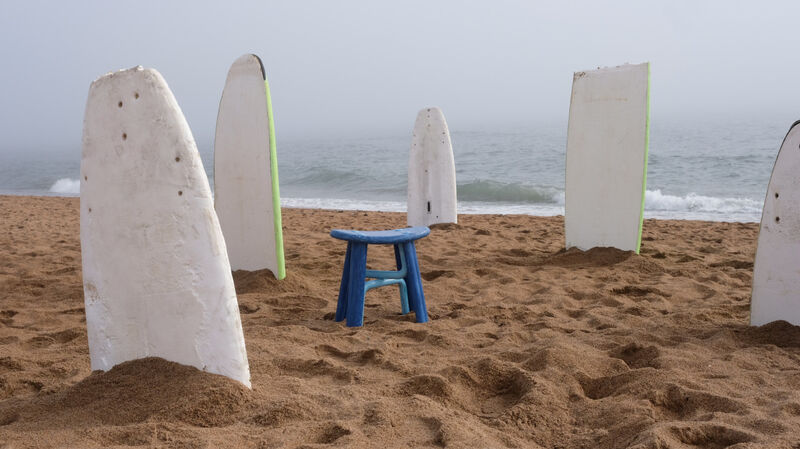 Upcycled Surfboard Furniture