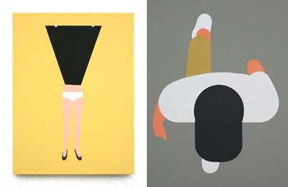 Silly Minimalist Illustrations