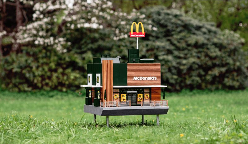 Fast Food-Inspired Beehives