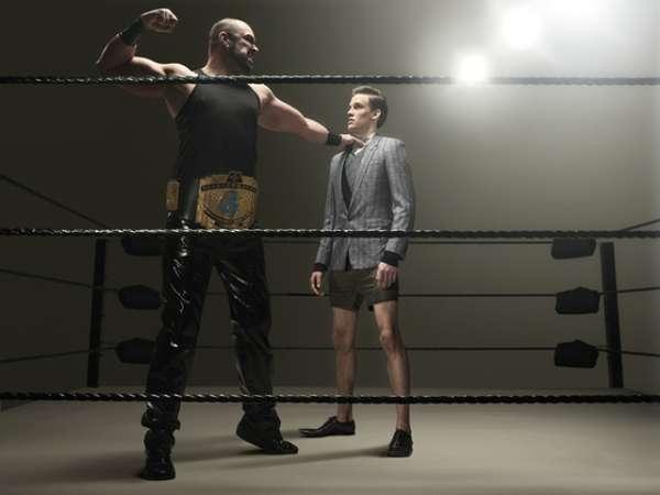 Fighting Fashion Shoots