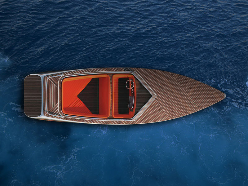 Luxury Wooden Speed Boats