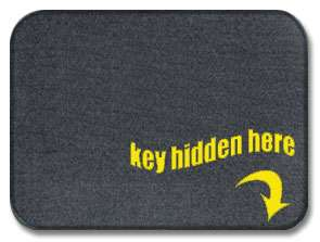 Doormats To Enable Burglars Key Hidden Here Mat Reveals